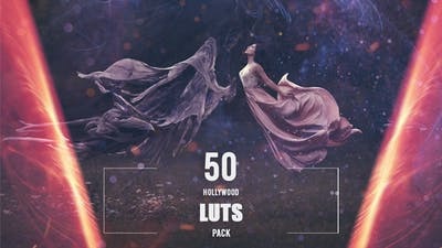 50 Hollywood LUTs Pack