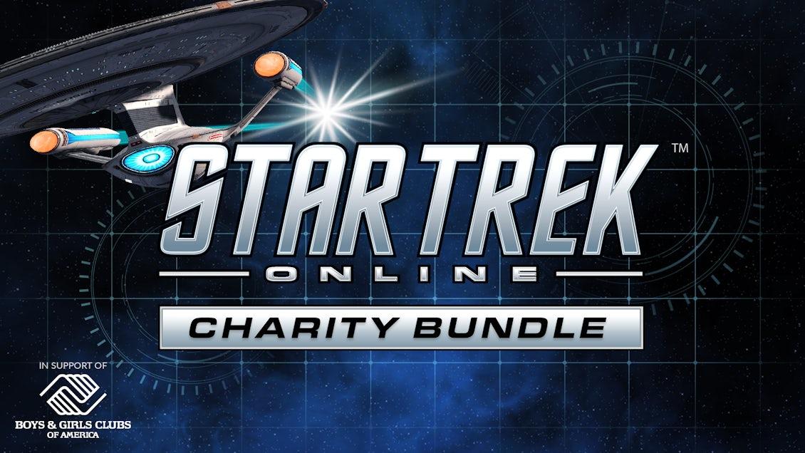 Announcement banner for Fanatical's Star Trek Online Charity Bundle