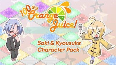 100% Orange Juice - Saki & Kyousuke Character Pack - DLC