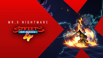 Streets Of Rage 4 - Mr. X Nightmare - DLC