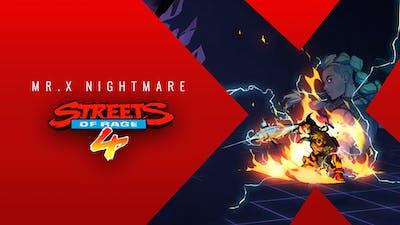 Streets Of Rage 4 - Mr. X Nightmare