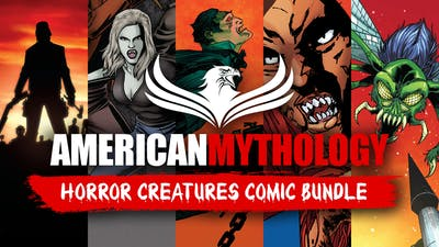 American Mythology Horror Creatures Comic Bundle