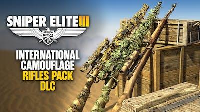 Sniper Elite 3 - International Camouflage Rifles Pack DLC