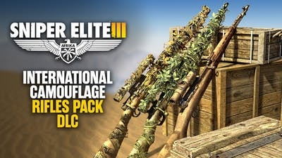 Sniper Elite 3 - International Camouflage Rifles Pack DLC