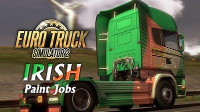 Euro Truck Simulator 2 - Irish Paint Jobs Pack DLC