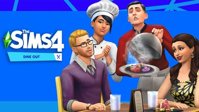 THE SIMS 4 DINE OUT