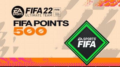FIFA 22 ULTIMATE TEAM FIFA POINTS 500