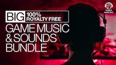 Big 100% Royalty Free Game Music & Sounds Bundle