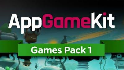 AppGameKit - Games Pack 1