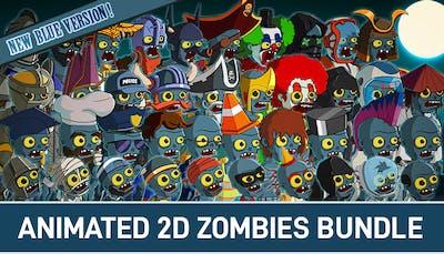 Animated 2D Zombies Bundle
