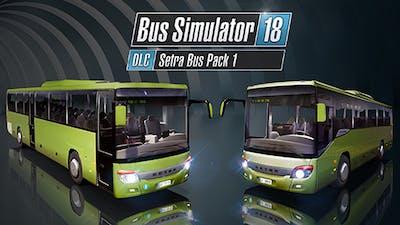 Bus Simulator 18 - Setra Bus Pack 1 - DLC