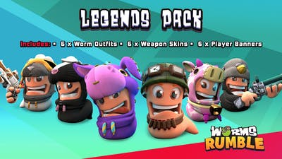 Worms Rumble - Legends Pack - DLC