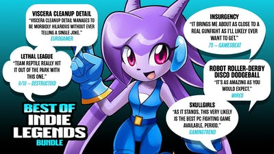 View The Best of Indie Legends Bundle Trailer Now!