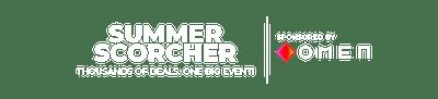 SUMMER SCORCHER Takeover - on sale header