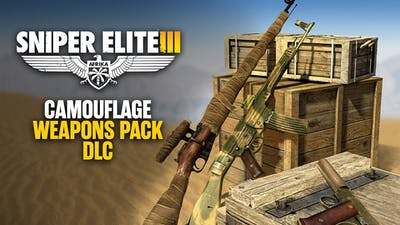 Sniper Elite 3 - Camouflage Weapons Pack DLC