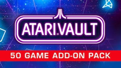 Atari Vault - 50 Game Add-On Pack - DLC