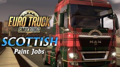 Euro Truck Simulator 2 - Scottish Paint Jobs Pack DLC