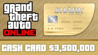Grand Theft Auto Online : Whale Shark Cash Card