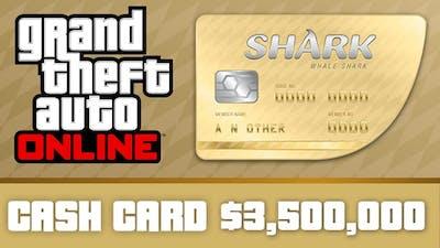 Grand Theft Auto Online : Whale Shark Cash Card