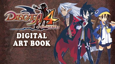 Disgaea 4 Complete+ - Digital Art Book
