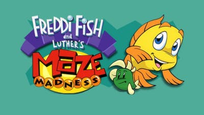 Freddi Fish and Luther's Maze Madness