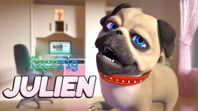 FaceRig Julien the Pug Avatar - DLC