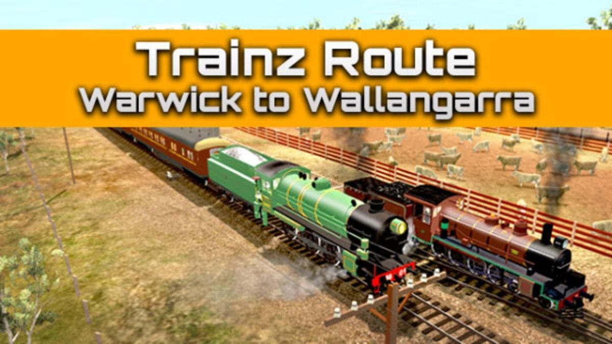 Trainz Route: Warwick to Wallangarra DLC | Mac PC Steam Downloadable
