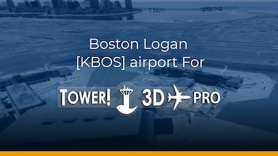 Boston Logan [KBOS] airport for Tower!3D Pro - DLC
