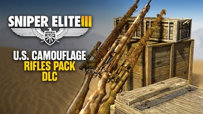 Sniper Elite 3 - U.S. Camouflage Rifles Pack DLC