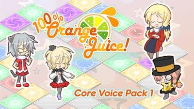 100% Orange Juice - Core Voice Pack 1 - DLC