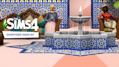 The Sims 4 Courtyard Oasis Kit - DLC