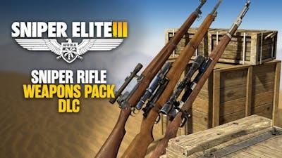 Sniper Elite 3 - Sniper Rifles Pack DLC