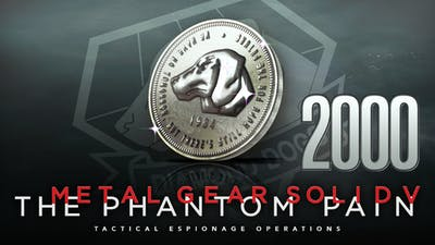 METAL GEAR SOLID V: THE PHANTOM PAIN - MB Coin 2000 - DLC
