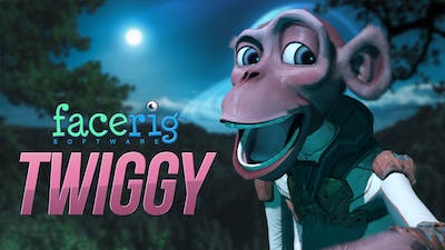FaceRig Twiggy the Monkey Avatar - DLC