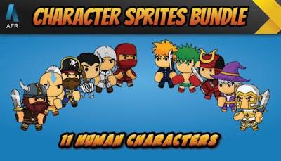 AFR Character Sprites Bundle