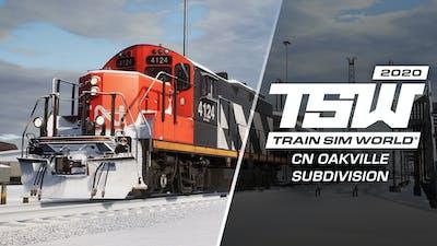 Train Sim World®: Canadian National Oakville Subdivision: Hamilton - Oakville Route Add-On