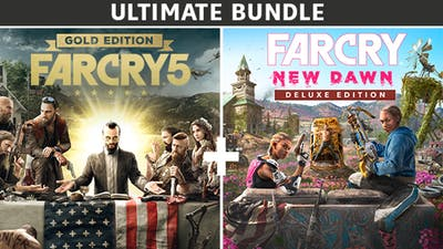 Far Cry® 5 Gold Edition + Far Cry® New Dawn Deluxe Edition Bundle