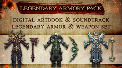 Shadows: Awakening - Legendary Armory Pack - DLC
