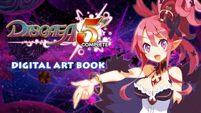 Disgaea 5 Complete - Digital Art Book DLC