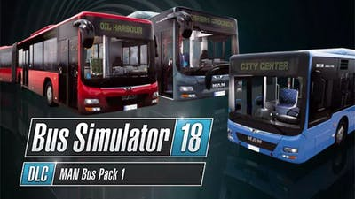 Bus Simulator 18 - MAN Bus Pack 1 - DLC