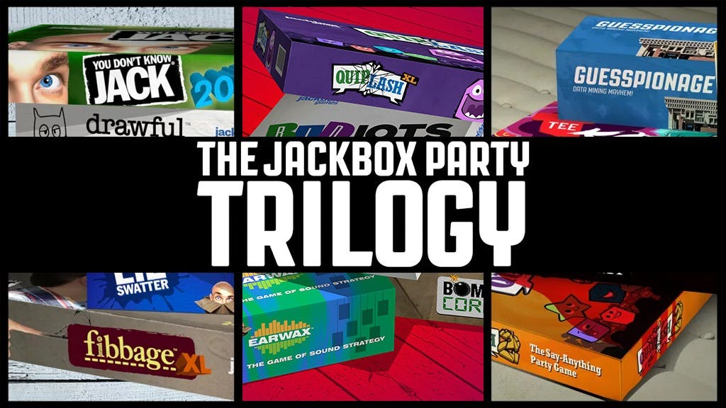 The Jackbox Party Trilogy