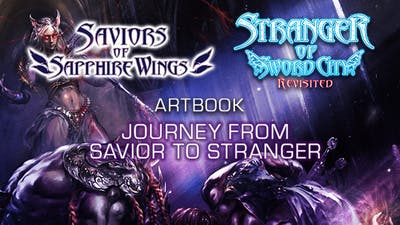"Saviors of Sapphire Wings / Stranger of Sword City Revisited - ""Journey from Savior to Stranger"" Art Book - DLC"