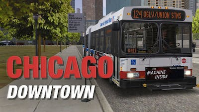 OMSI 2 Add-on Chicago Downtown - DLC