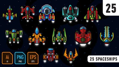 25 Spaceships