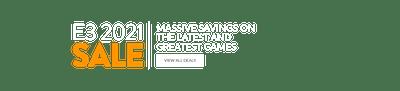 E3 2021 Sale Takeover Header