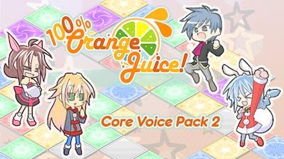 100% Orange Juice - Core Voice Pack 2 - DLC