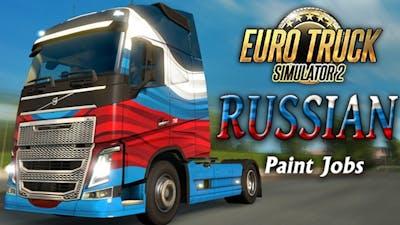 Euro Truck Simulator 2 - Russian Paint Jobs Pack DLC