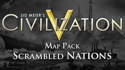 Sid Meier's Civilization V: Scrambled Nations Map Pack DLC