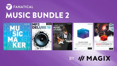 Fanatical Music Bundle 2 by MAGIX