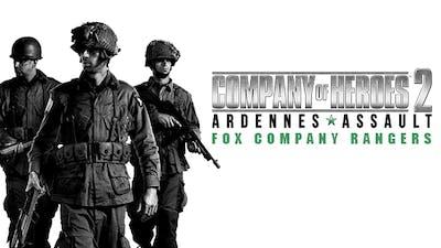 Company of Heroes 2 - Ardennes Assault: Fox Company Rangers DLC